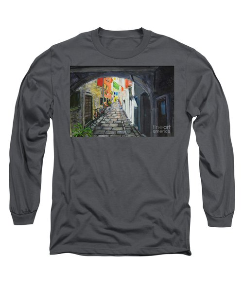 Street View 2 From Pula Long Sleeve T-Shirt