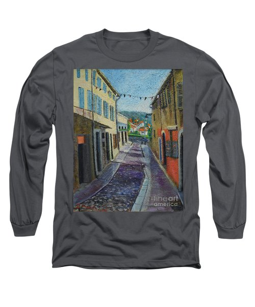 Street View From Provence Long Sleeve T-Shirt