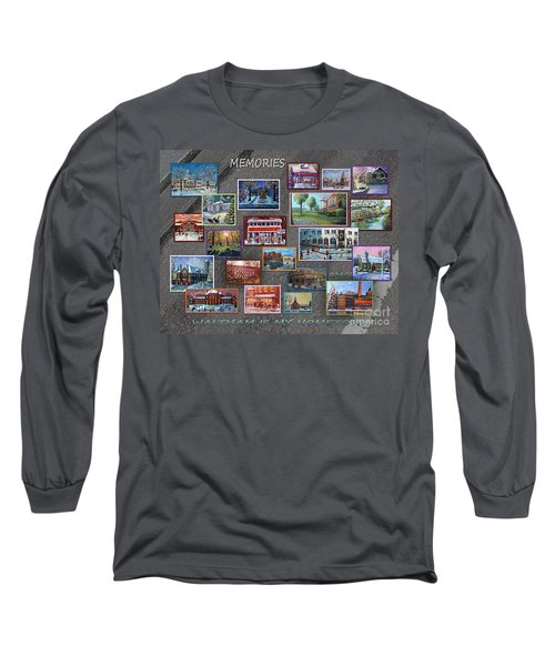Streets Full Of Memories Long Sleeve T-Shirt