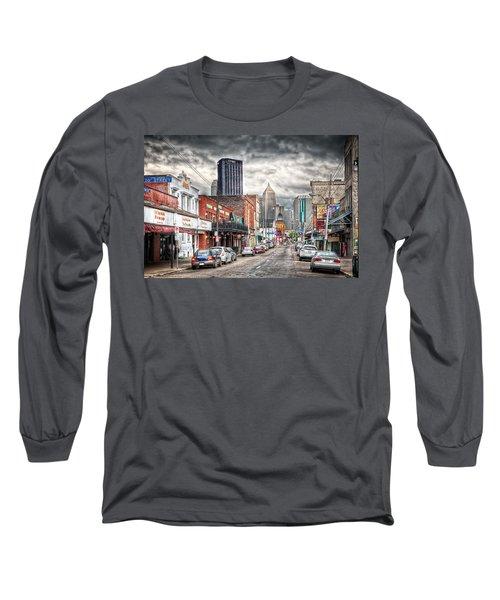 Strip District Pittsburgh Long Sleeve T-Shirt