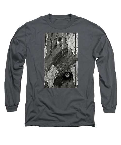 Stripping Hull Of An Old Abandoned Ship Long Sleeve T-Shirt by RicardMN Photography
