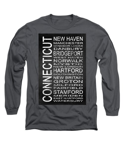 Subway Connecticut State 1 Long Sleeve T-Shirt