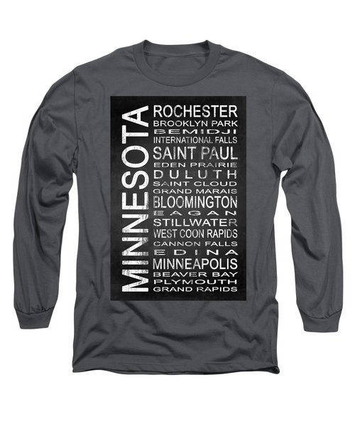 Subway Minnesota State 1 Long Sleeve T-Shirt
