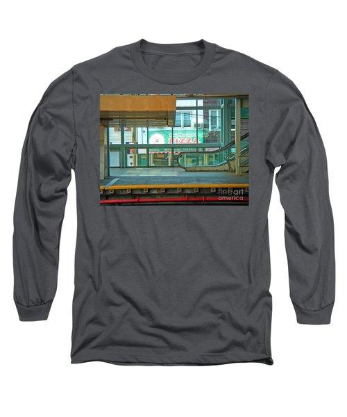 Subway Pizza Long Sleeve T-Shirt