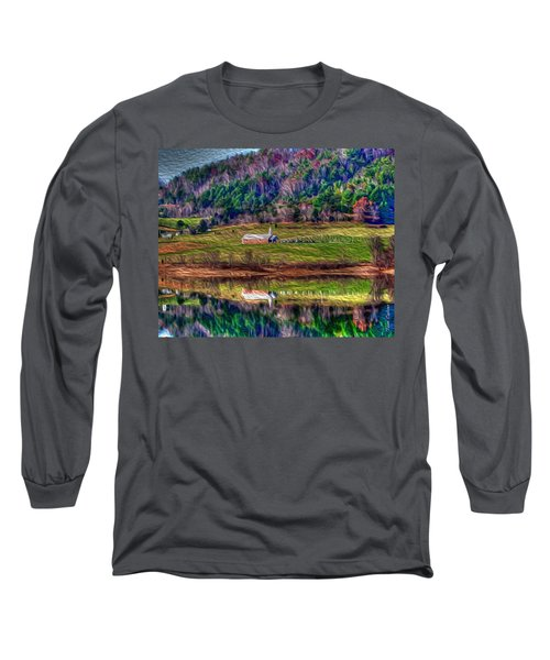 Sugar Grove Reflection Long Sleeve T-Shirt by Tom Culver