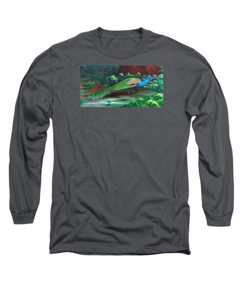 Suitors - Strolling Long Sleeve T-Shirt by Katherine Young-Beck