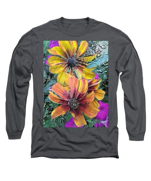 Summer Flowers One Long Sleeve T-Shirt