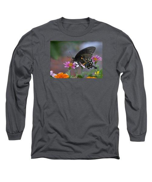 Long Sleeve T-Shirt featuring the photograph Summer Garden by Nava Thompson