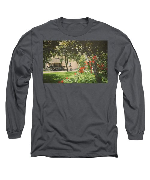 Long Sleeve T-Shirt featuring the photograph Summer In The Park by Ari Salmela