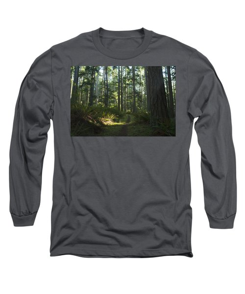 Summer Pacific Northwest Forest Long Sleeve T-Shirt