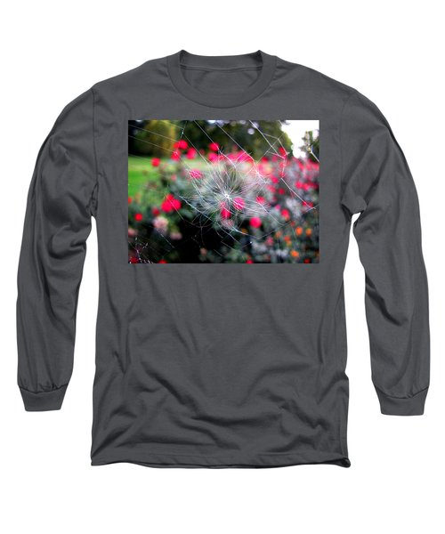 Summer Snowflake Long Sleeve T-Shirt by Greg Simmons