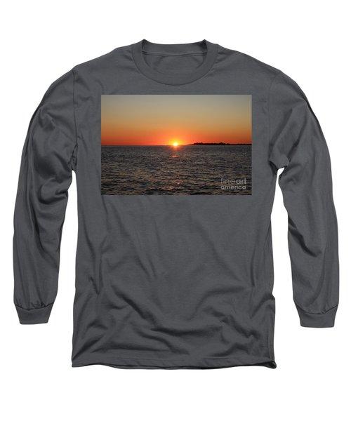 Summer Sunset Long Sleeve T-Shirt by John Telfer