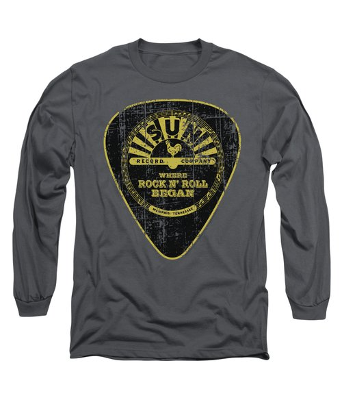 Sun - Guitar Pick Long Sleeve T-Shirt