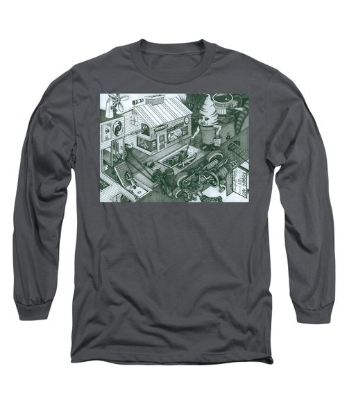 A Sundae In The Park With George Long Sleeve T-Shirt