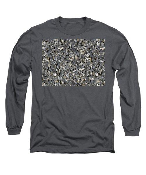 Sunflower Seeds Long Sleeve T-Shirt