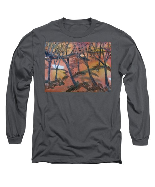 Sunlit Forest Long Sleeve T-Shirt