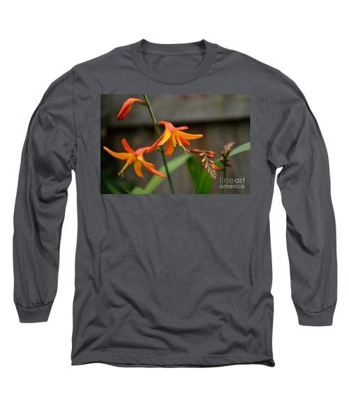 Sunny Crocosmia Long Sleeve T-Shirt