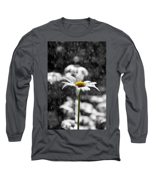 Sunny Disposition Despite Showers Long Sleeve T-Shirt