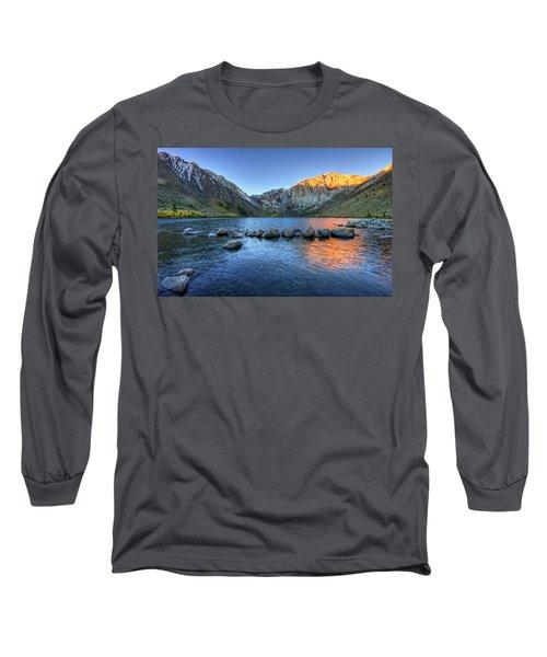 Sunrise At Convict Lake Long Sleeve T-Shirt