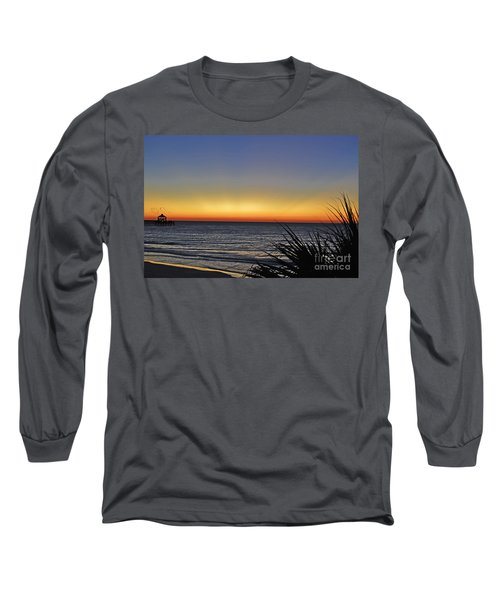 Sunrise At Folly Long Sleeve T-Shirt