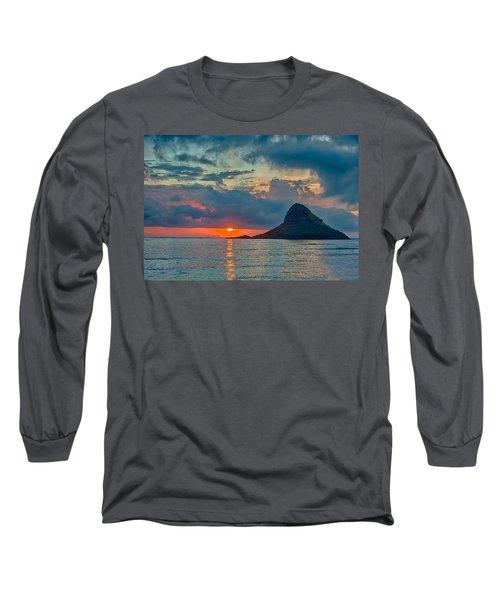 Sunrise At Kualoa Park Long Sleeve T-Shirt