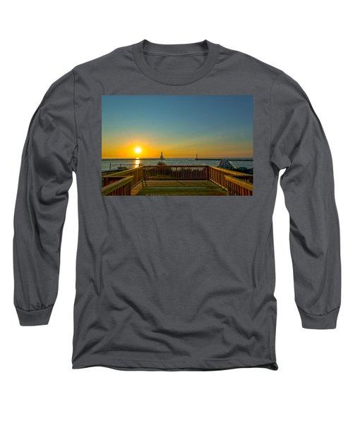 Sunrise Deck Long Sleeve T-Shirt