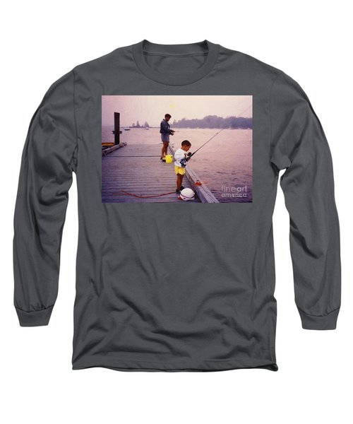 Sunrise Fishing Long Sleeve T-Shirt