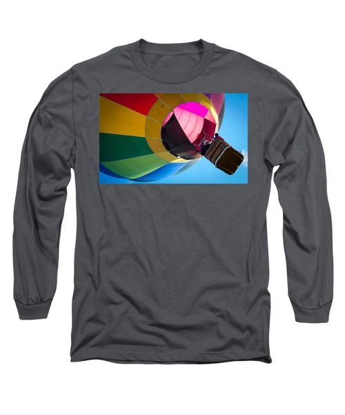Long Sleeve T-Shirt featuring the photograph Sunrise Launch by Patrice Zinck