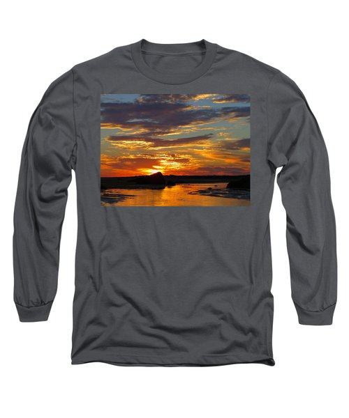 Long Sleeve T-Shirt featuring the photograph Sunrise Magic by Dianne Cowen