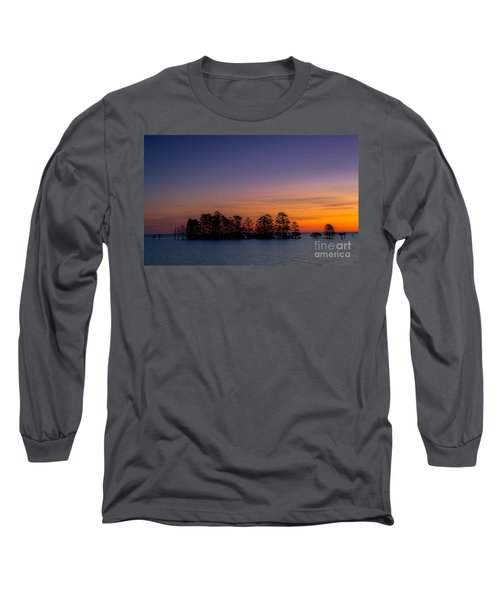 Sunrise On Lake Mattamuskeet Long Sleeve T-Shirt