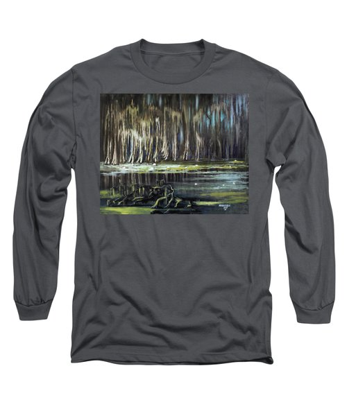Sunrise On The Bayou Long Sleeve T-Shirt