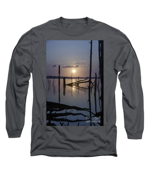 Sunrise Over Manasquan Reservoir Long Sleeve T-Shirt