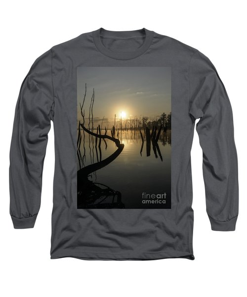 Sunrise Over Manasquan Reservoir II Long Sleeve T-Shirt