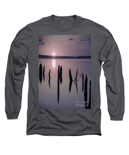 Sunrise Over Manasquan Reservoir Iv Long Sleeve T-Shirt