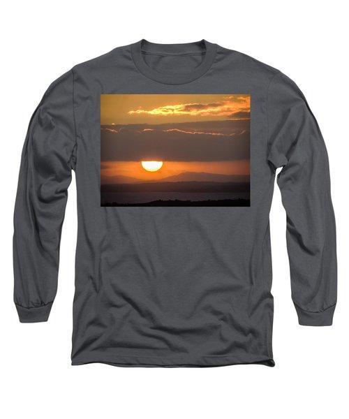 Sunrise Over River Shannon Long Sleeve T-Shirt