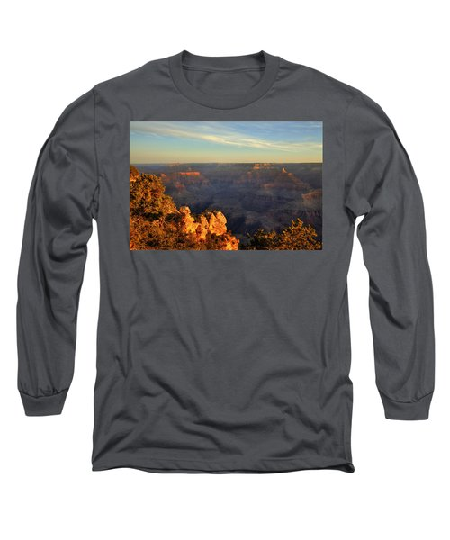 Long Sleeve T-Shirt featuring the photograph Sunrise Over Yaki Point At The Grand Canyon by Alan Vance Ley