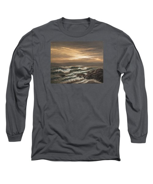 Sunset At Pacific Grove Long Sleeve T-Shirt