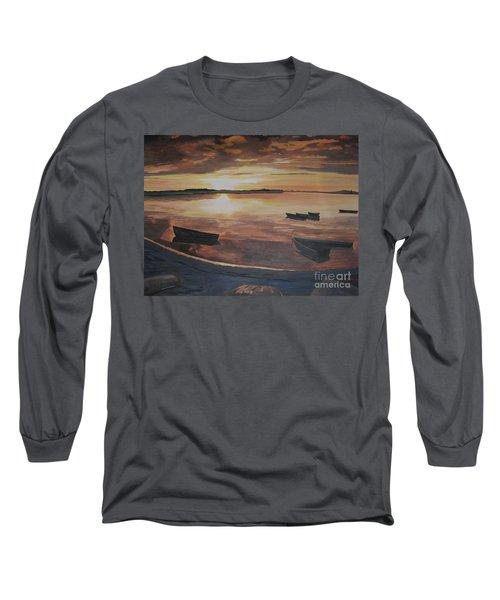 Sunset Evening Tide Long Sleeve T-Shirt