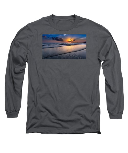 Sunset  Long Sleeve T-Shirt by Hayato Matsumoto