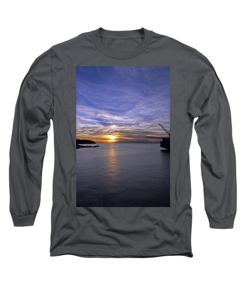 Sunset In Adriatic Long Sleeve T-Shirt