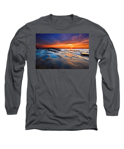 Sunset In San Diego Long Sleeve T-Shirt