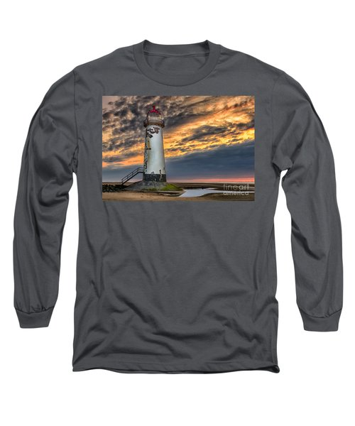 Sunset Lighthouse Long Sleeve T-Shirt