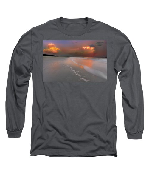 Sunset On Hilton Head Island Long Sleeve T-Shirt