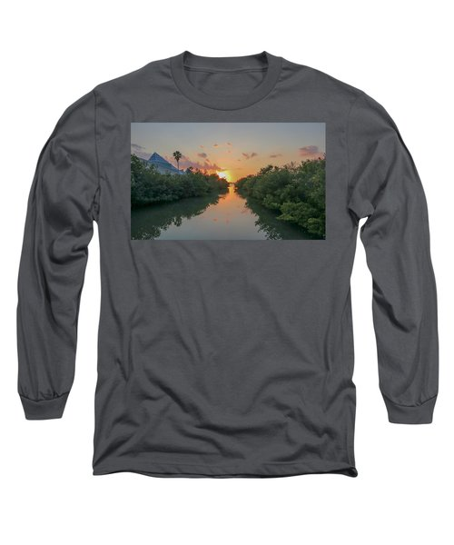 Sunset On Sarasota Bay Long Sleeve T-Shirt