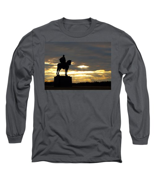 Sunset On The Battlefield Long Sleeve T-Shirt