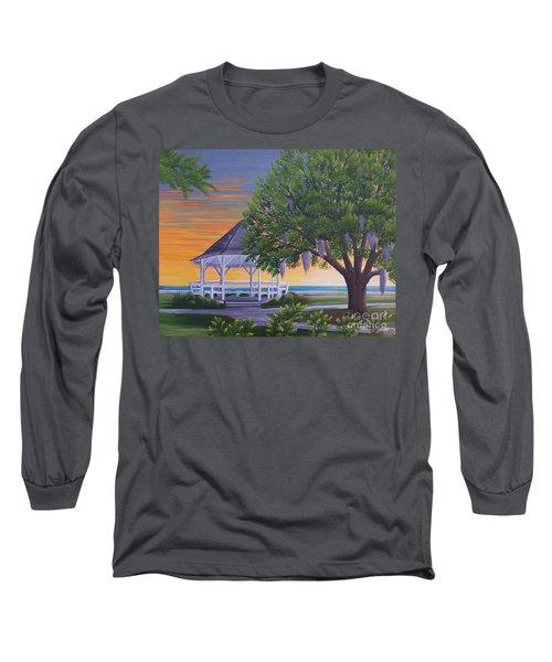 Sunset On The Gazeebo Long Sleeve T-Shirt