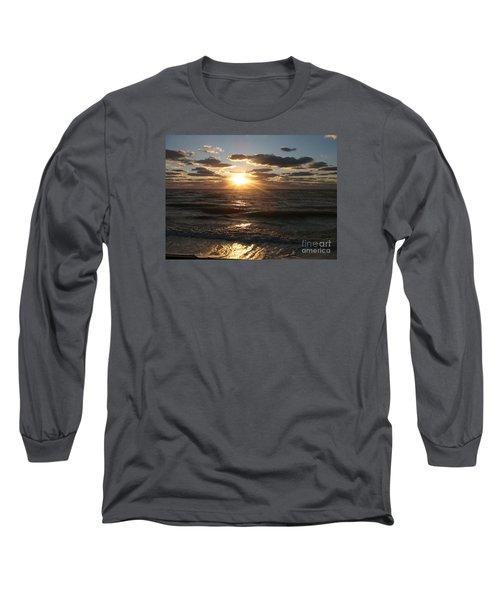 Sunset On Venice Beach  Long Sleeve T-Shirt