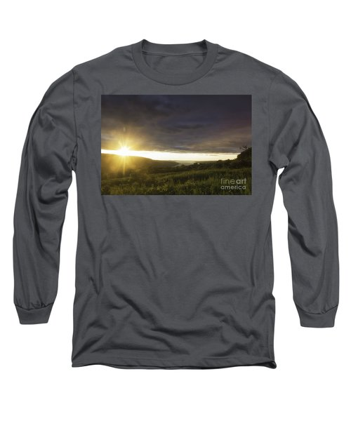 Sunset Over Skaneateles Long Sleeve T-Shirt
