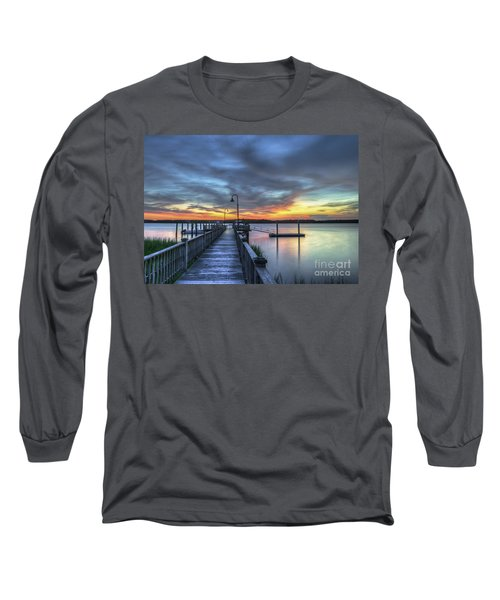 Sunset Over The River Long Sleeve T-Shirt