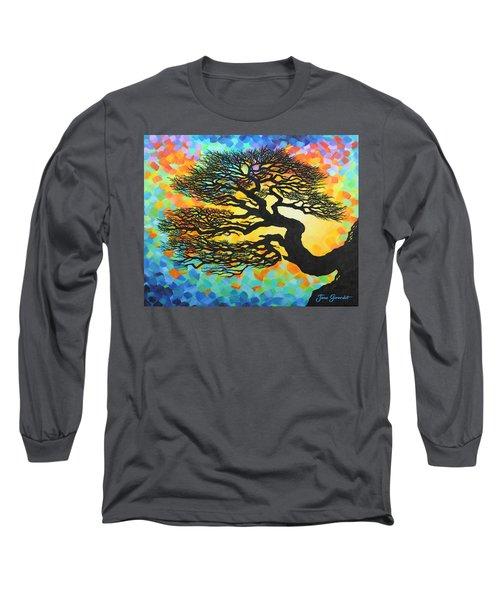 Sunset Pine Long Sleeve T-Shirt